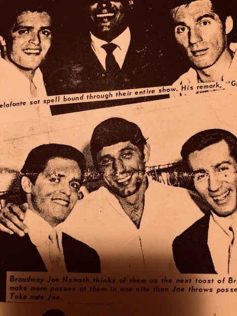 Mickey & Larry with Joe Nemath
