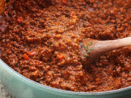 Bolognese Sauce - Rich & Fructose Free