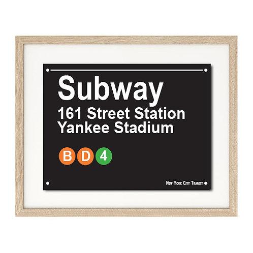 New York Subway Print Series - A4