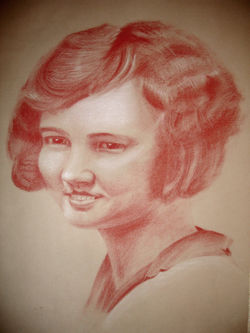 carbathello pastel portrait
