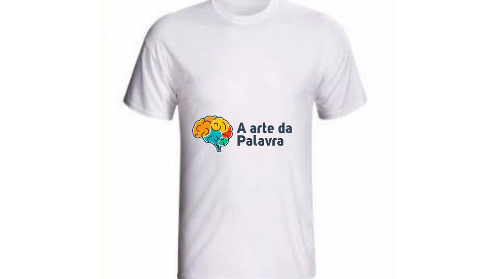 """Camiseta """"A Arte da Palavra"""""""
