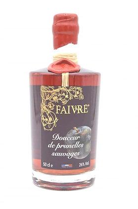 FAIVRE® Douceur de Prunelles sauvages   (50 Cl)