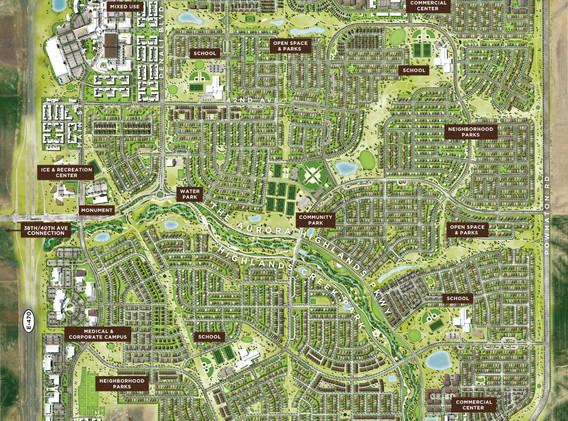 The Aurora Highlands Land Plan