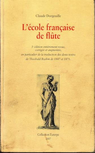 L'école française de flûte
