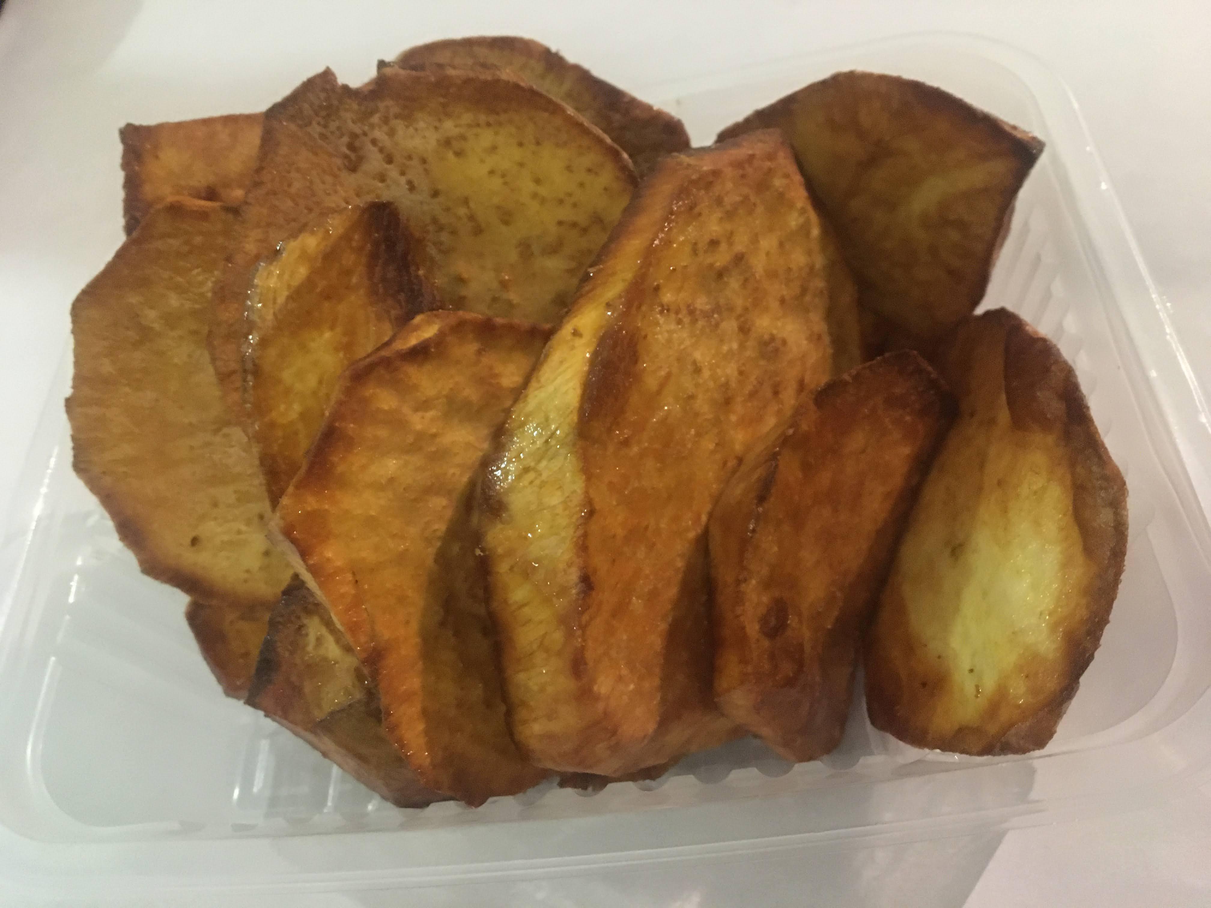 Batata frita o al vapor