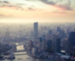Shanghai an der Dämmerung