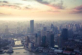 Shanghai au crépuscule