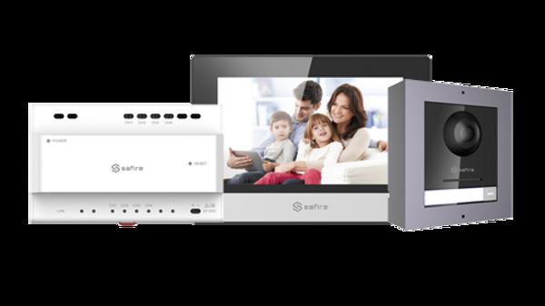 Kit videocitofono 2 Fili-IP