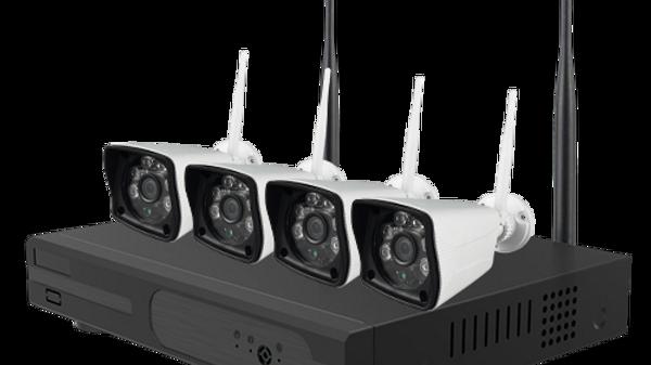 Kit IP Wi-Fi 4Ch