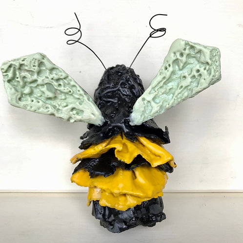 Encaustic Bee Sculpture