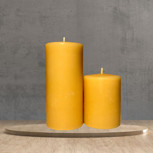 "3"" Pillar Beeswax Candle"
