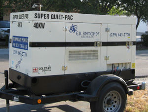 Generator Rentals in Southwest Florida