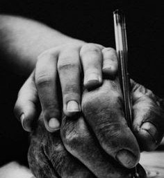 Envelhecimento das mãos...