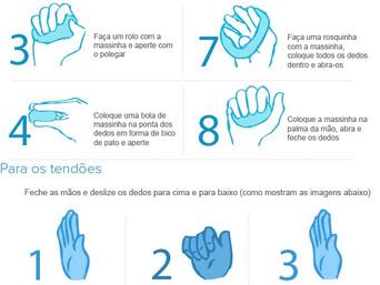 Exercícios para as mãos