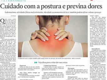Cuidado com a postura e previna dores