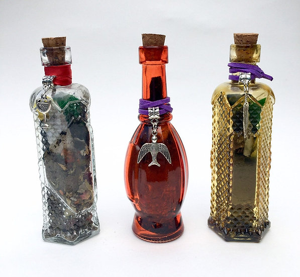 Witch Bottles for Home Protection