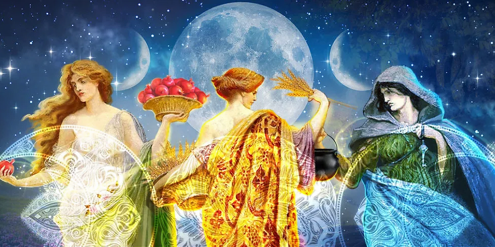 The Wild Goddess: The Triple Moon Goddess