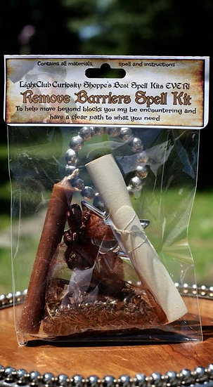 Remove Barriers Spell Kit