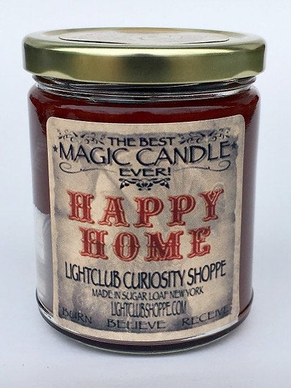 Happy Home Spell Candle