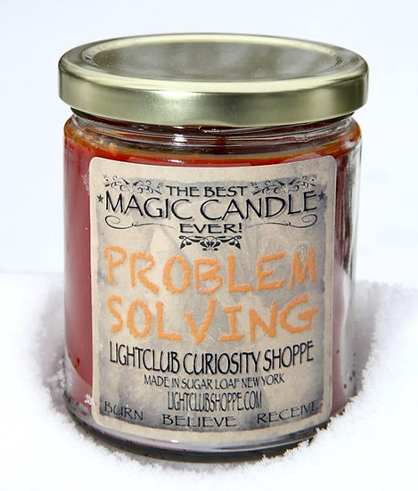 Problem Solving Spell Candle
