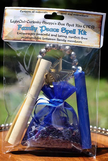 Family Peace Spell Kit
