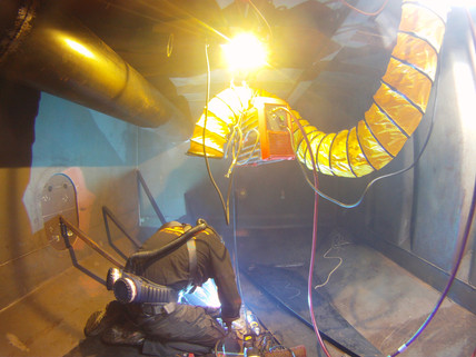 Offshore Confined space welding