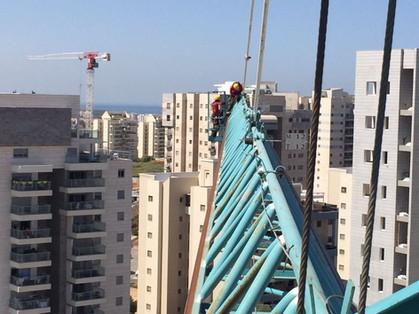 Tower crane NDT