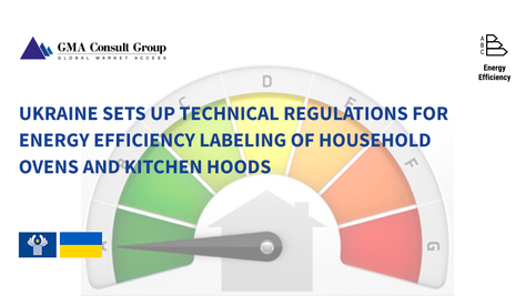 Ukraine Sets up Technical Regulations for Energy Efficiency Labeling of Household Ovens and Kitchen
