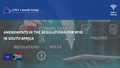 Amendments in the Regulations for RFID in South Africa