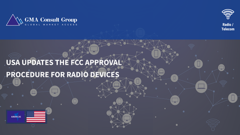 USA Updates the FCC Approval Procedure for Radio Devices