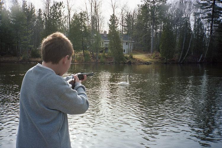 "Craig Neeson ""Swan Shooting"""