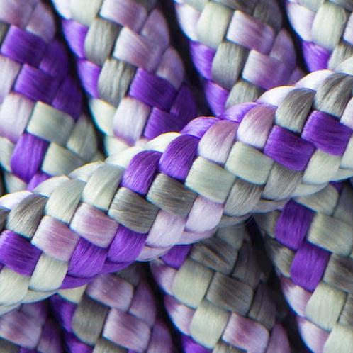 Leine purple grey mix verstellbar