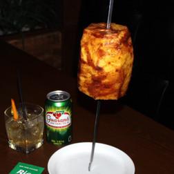 Cinnamon Glazed Pineapple
