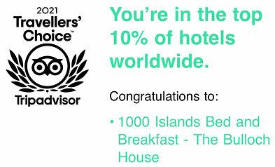 tripadvisor 2021 travellers' choice award