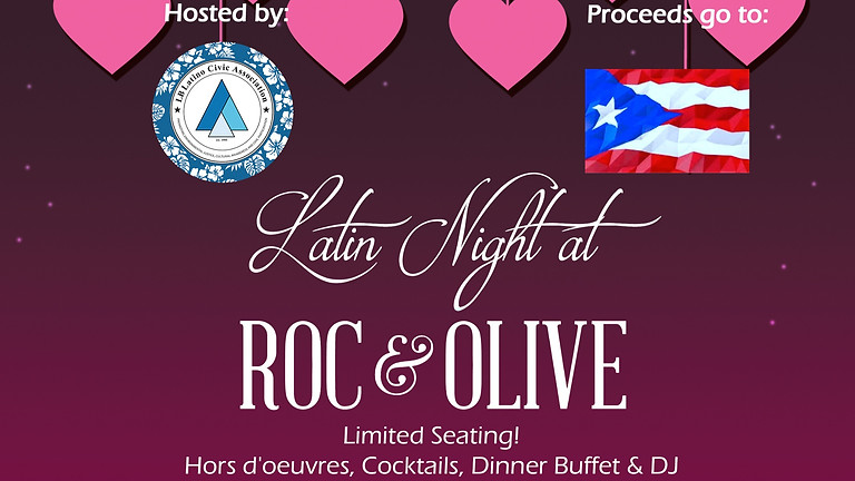 Puerto Rico Earthquake Relief Latin Night Fundraiser