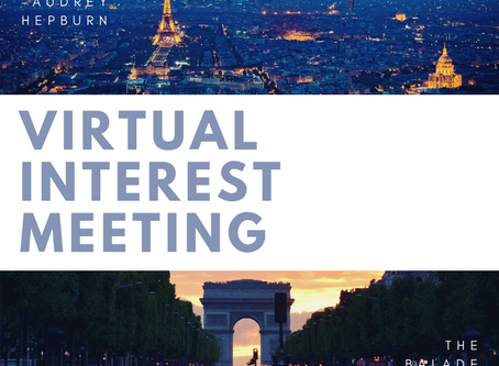 Paris 2019 Virtual Interest Meeting