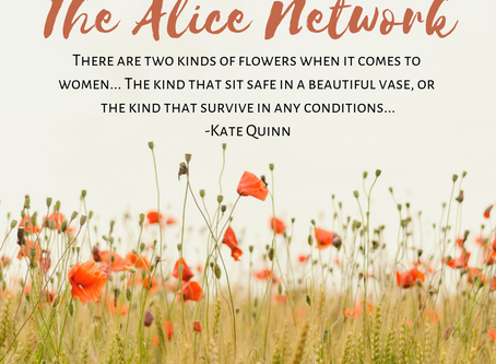 Wanderful Reads: The Alice Network