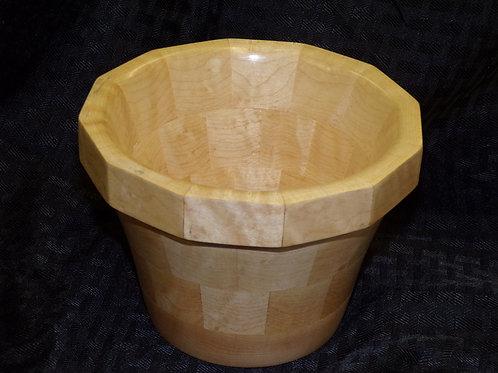Wooden Flower Pot