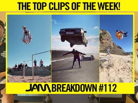 CRAZIEST FLIPS OF THE WEEK | JAM BREAKDOWN #112