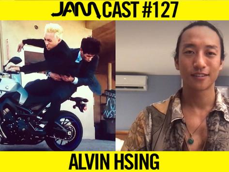 PRO STUNTMAN & FIGHT CHOREOGRAPHER | JAMCast #127 - ALVIN HSING