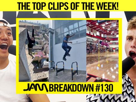 CRAZIEST FLIPS OF THE WEEK   JAM BREAKDOWN #130