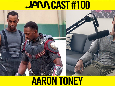RETIRING FROM MARVEL STUNT DOUBLING - JAMCast #100 - AARON TONEY