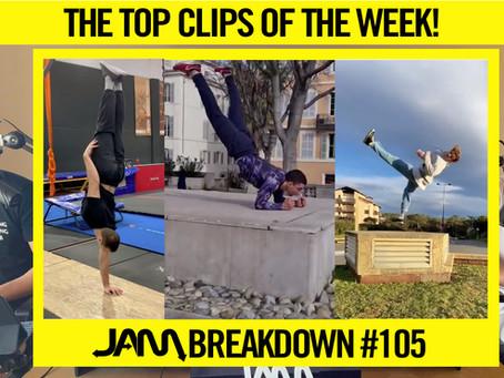 CRAZIEST FLIPS OF THE WEEK | JAM BREAKDOWN #105