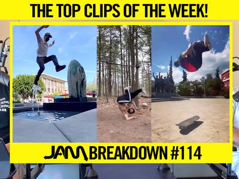 CRAZIEST FLIPS OF THE WEEK | JAM BREAKDOWN #114