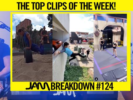 CRAZIEST FLIPS OF THE WEEK   JAM BREAKDOWN #124