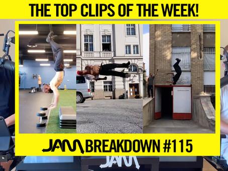 CRAZIEST FLIPS OF THE WEEK | JAM BREAKDOWN #115