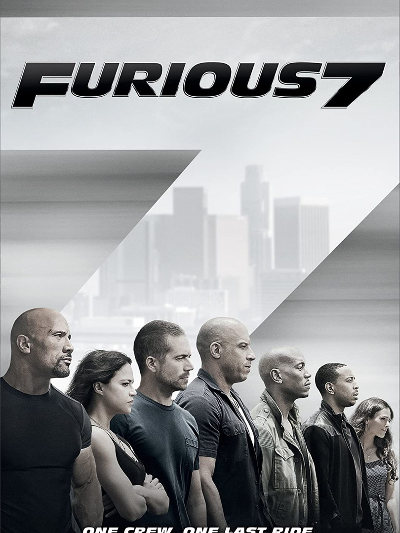 FURIOUS 7 (2015) Universal Pictures  ASST. FIGHT COORDINATOR  TO WATCH TRAILER: