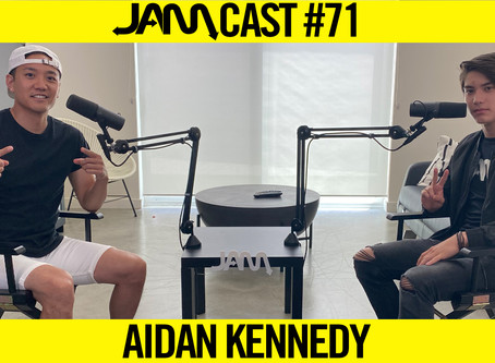 15 YEAR OLD TRICKING CHAMPION  | JAMCast #71 - AIDAN KENNEDY