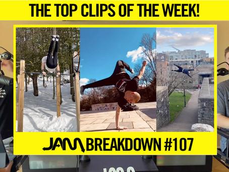 CRAZIEST FLIPS OF THE WEEK   JAM BREAKDOWN #107
