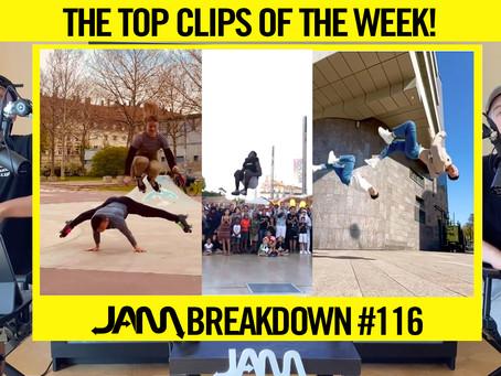 CRAZIEST FLIPS OF THE WEEK   JAM BREAKDOWN #116